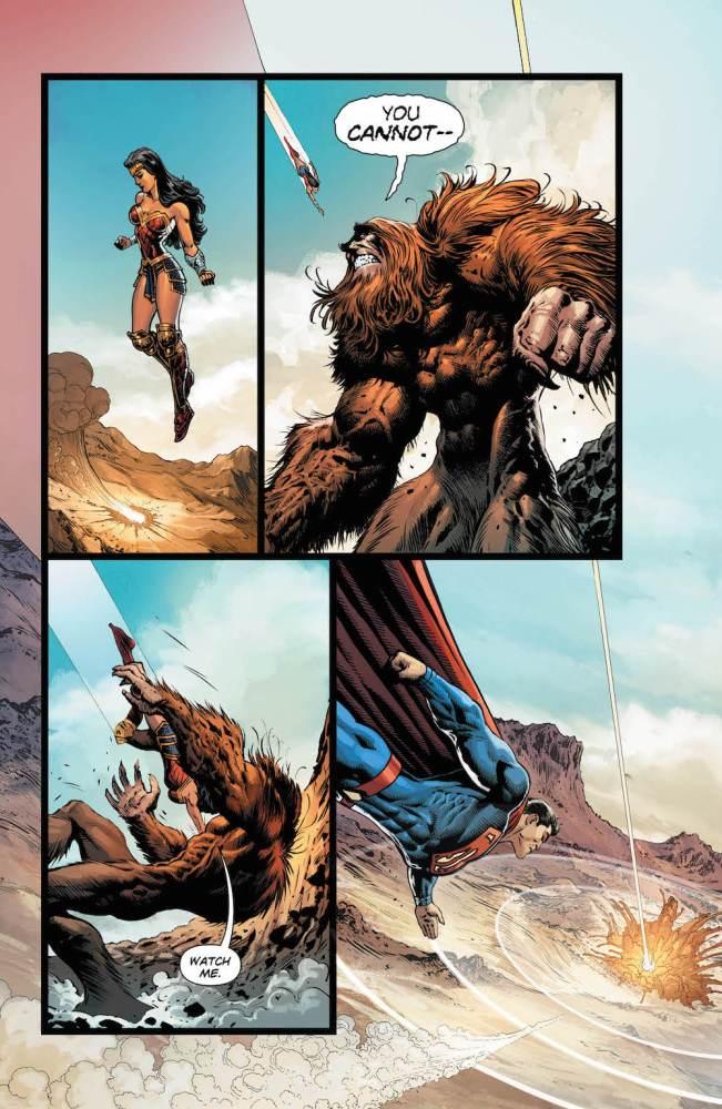 Rucka's last issue of Wonder Woman