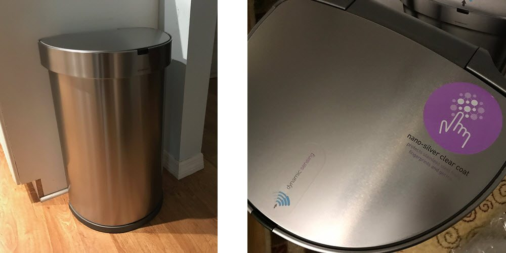 simplehuman touch free