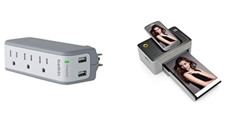 Geek Daily Deals belkin surge protector kodak photo printer
