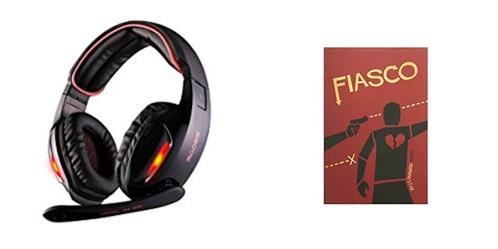 Geek Daily Deals gaming headset fiasco game