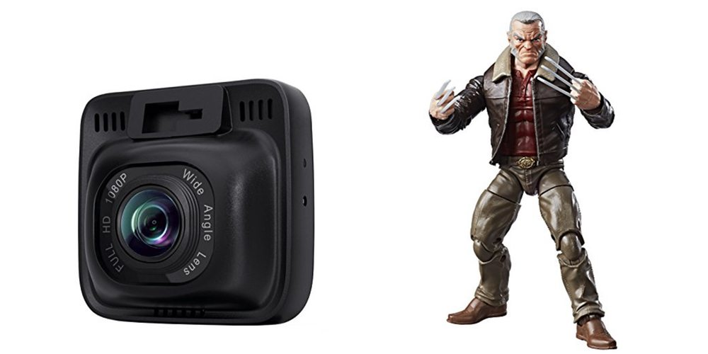 Geek Daily Deals aukey dashcam marvel legends wolverine