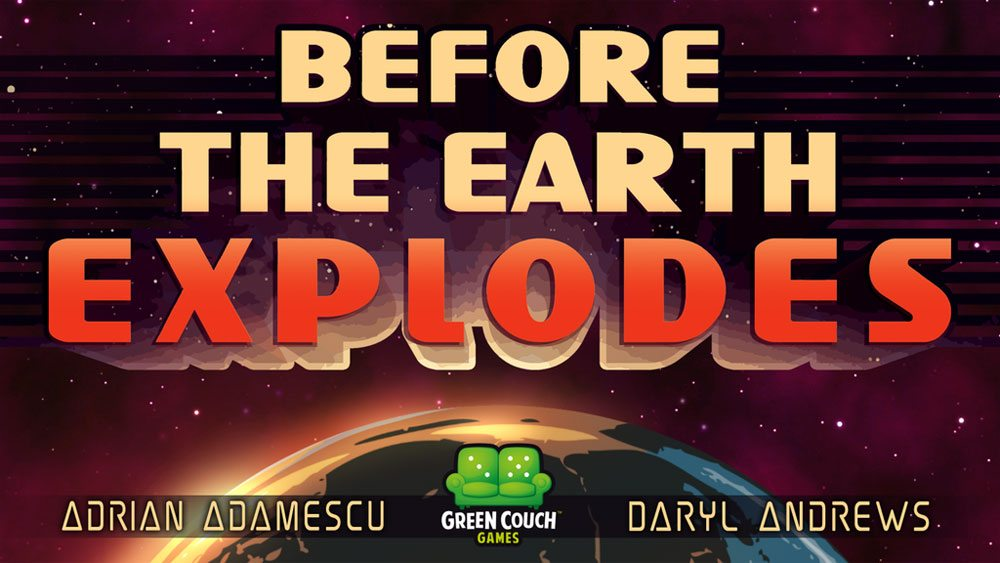 Before the Earth Explodes - banner