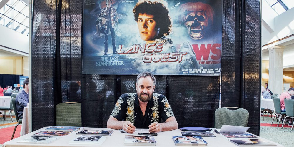 Star of 'The Last Starfighter,' Lance Guest at SFGE 2016.