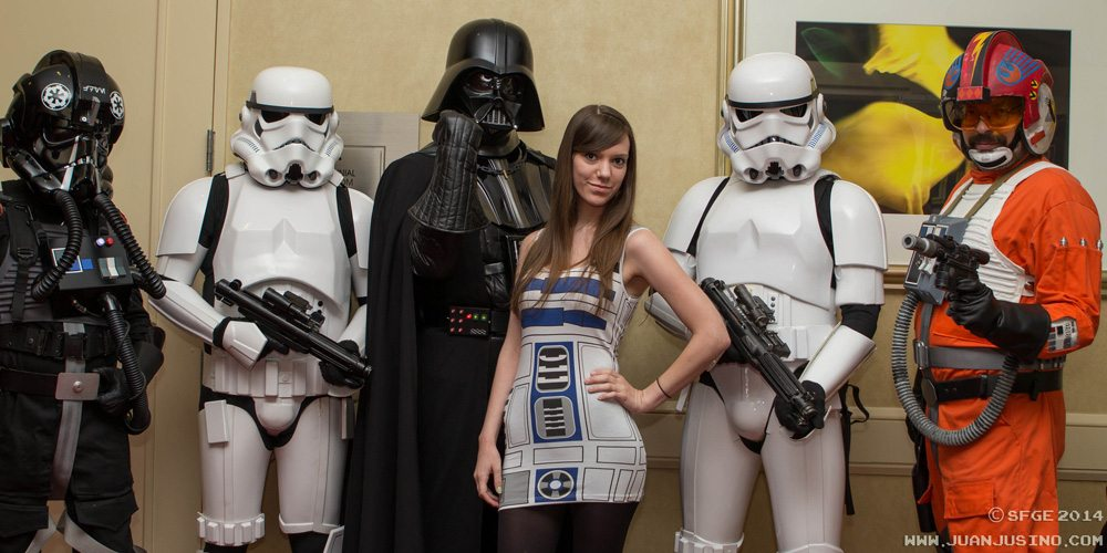 Star Wars costumes at SFGE 2014