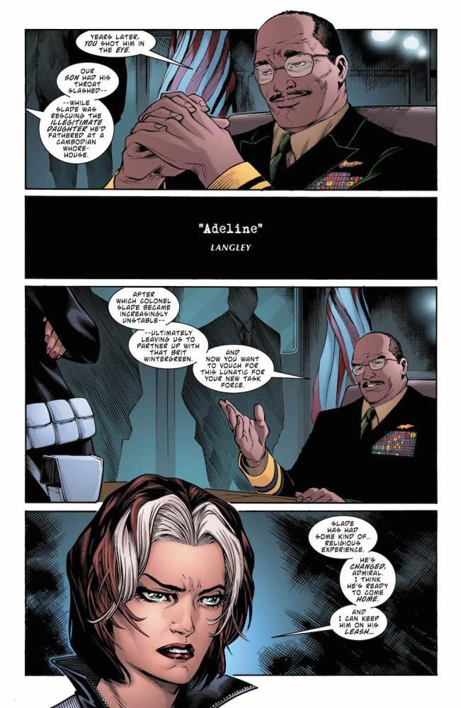 Deathstroke #21, Christopher Priest