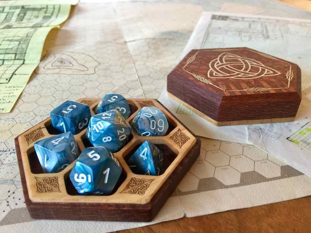 Hex Chest Remastered with Dice