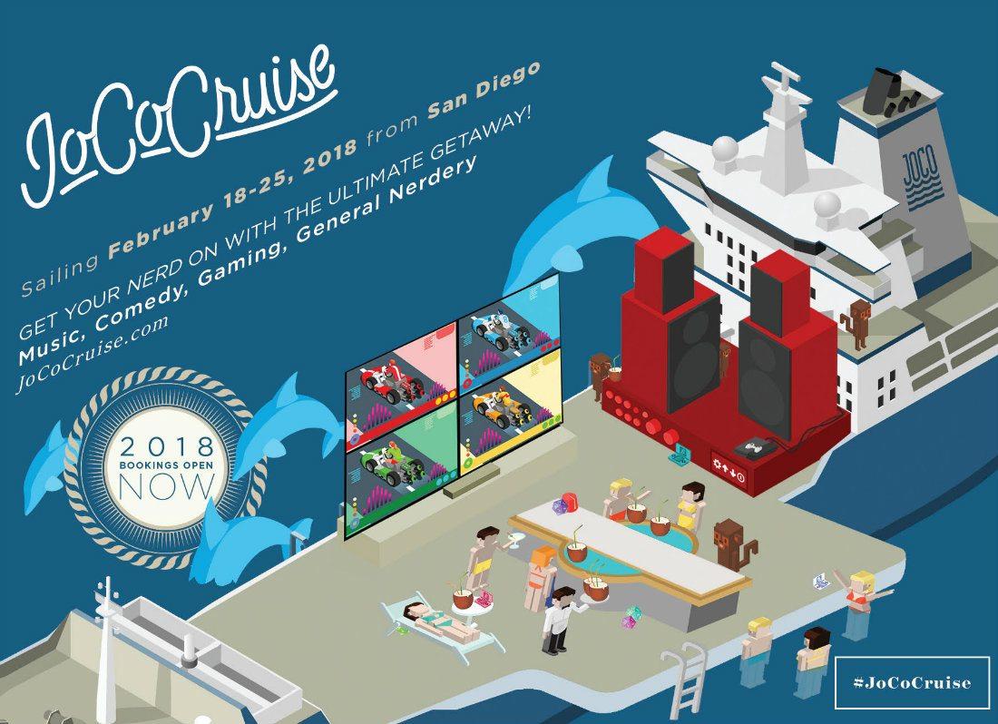 JoCo Cruise 2018 Guest Lineup