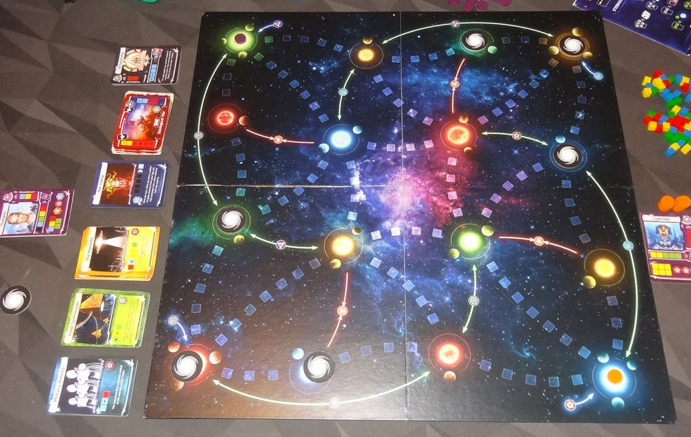 Master of the Galaxy 2 player setup