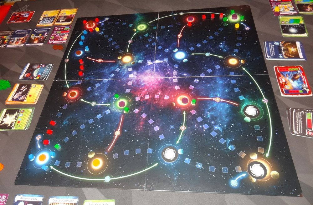 Master of the Galaxy 3-player game in progress