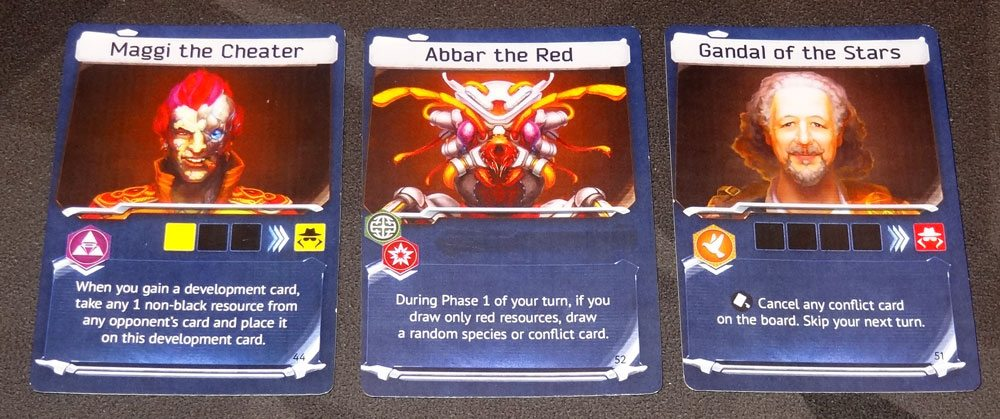 Master of the Galaxy leader cards