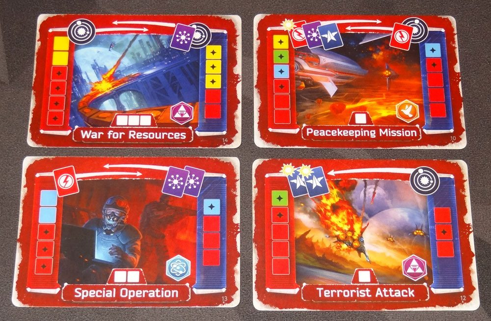 Master of the Galaxy conflict cards