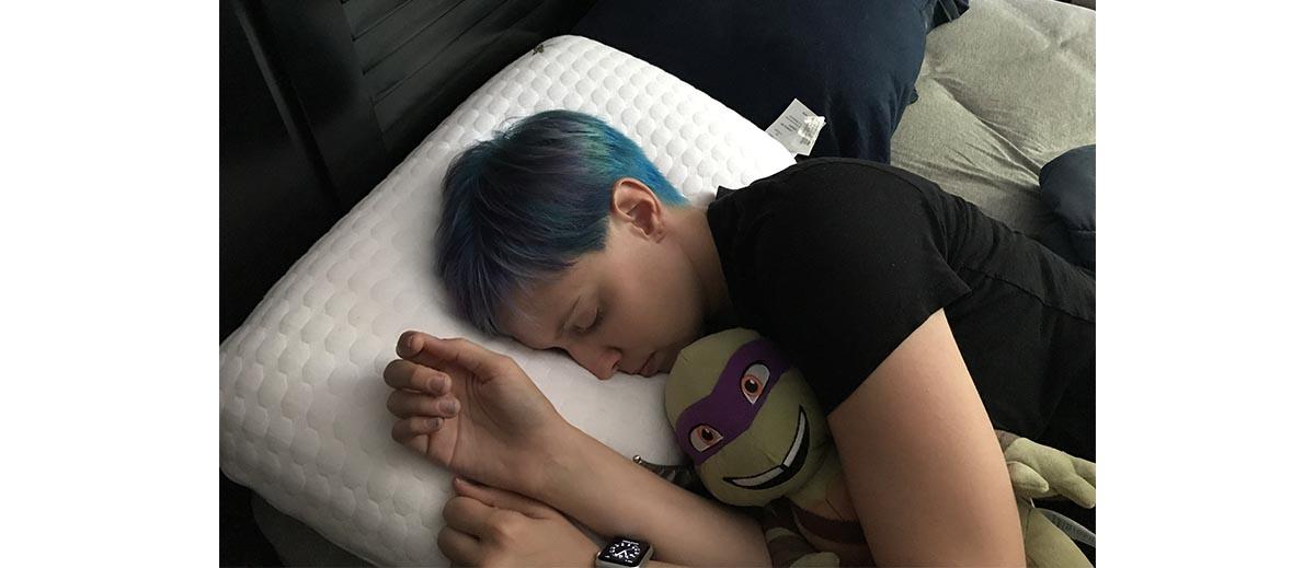 Nap time with Donny \ Image: Dakster Sullivan