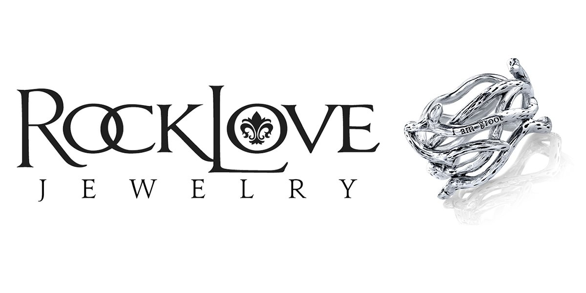 Silver plated awesomeness of RockLove Jewelry.  Image: RockLove Jewelry