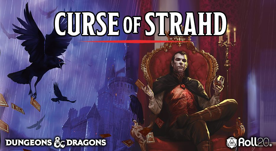 Curse of Strahd on Roll20