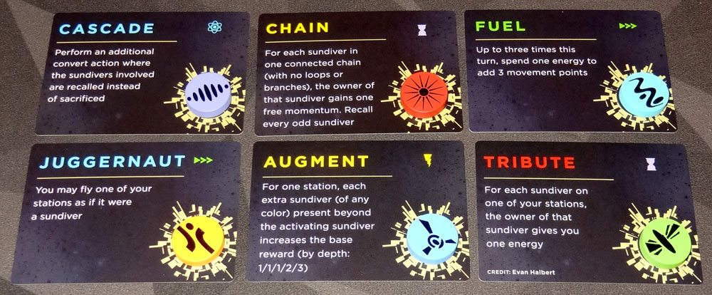 Sol Effects cards