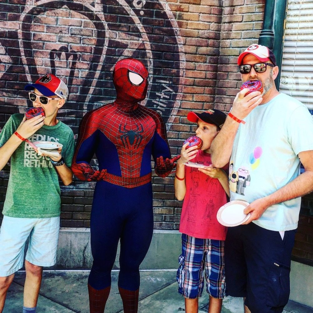 Spider-Man at Summer of Heroes