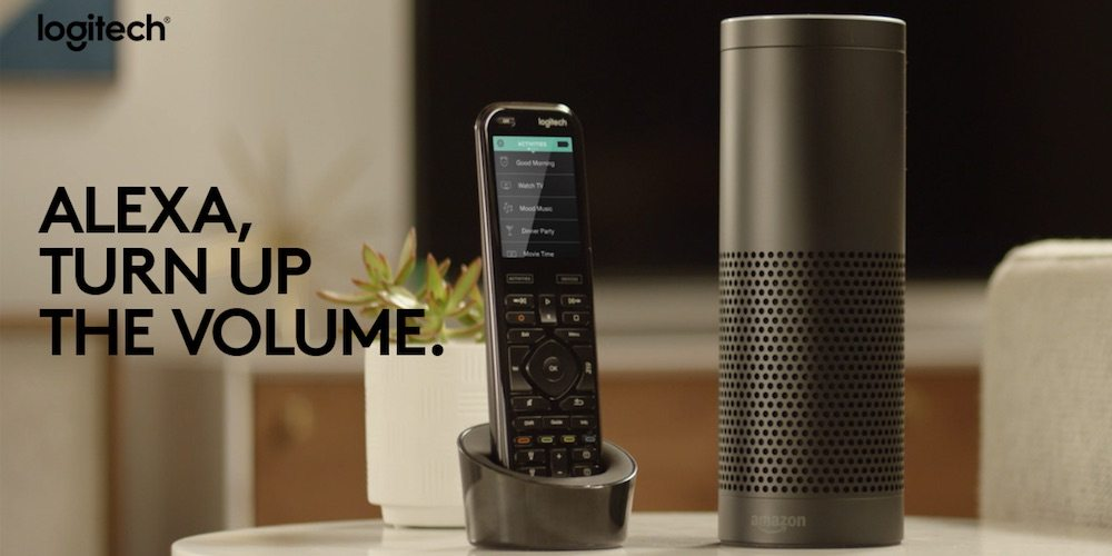 Amazon Echo and Harmony All-in-One Remote.
