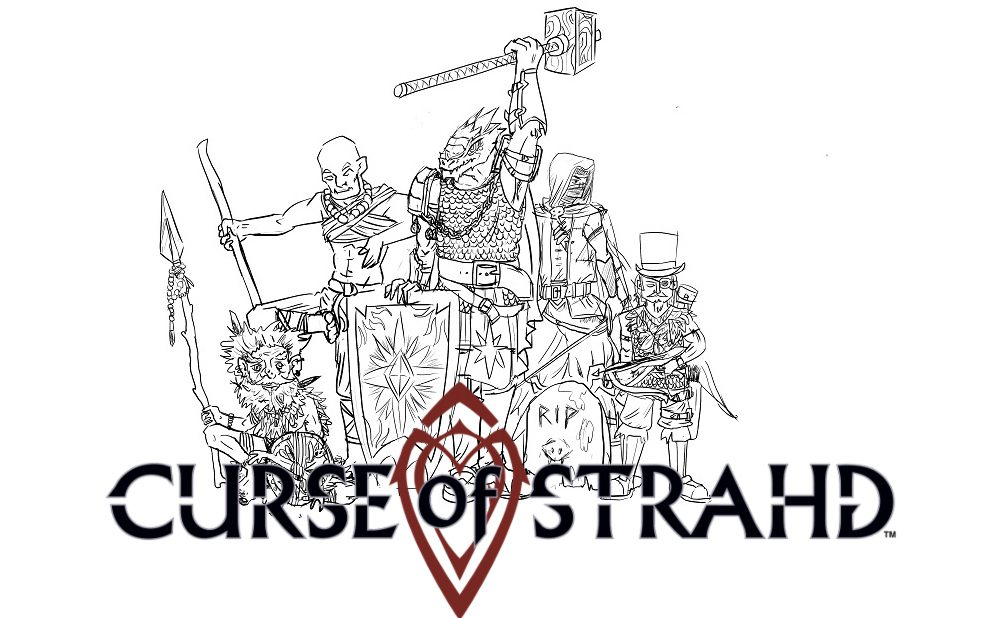 'd&d strahd' player's report