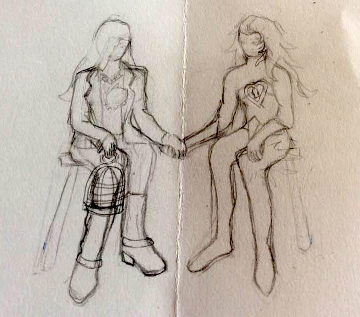 kahlo sketch