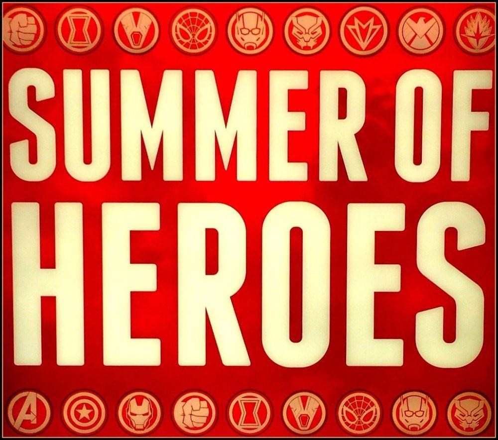 Summer of Heroes Disneyland