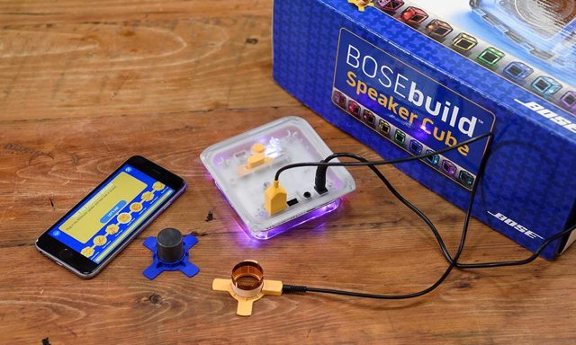 BOSEbuild Bluetooth Speaker learning