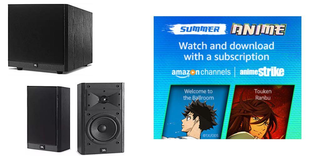 Geek Daily Deals 080117 jbl speakers anime Strike channel