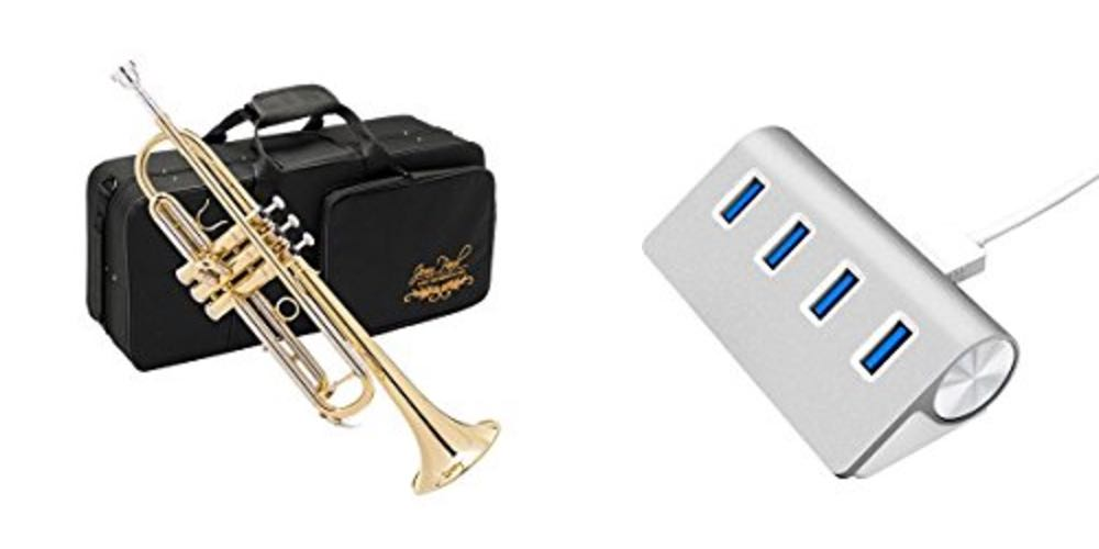 Geek Daily Deals 080817 band instruments usb hub