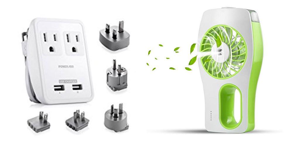 Geek Daily Deals 081117 travel outlet portable fan