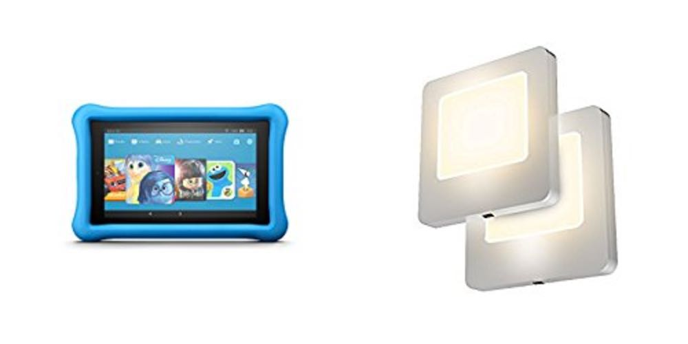 Geek Daily Deals kids kindle fire tablets 2-pack led nightlights