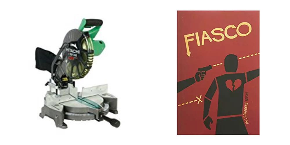 Geek Daily Deals 082317 hitachi miter saw fiasco game