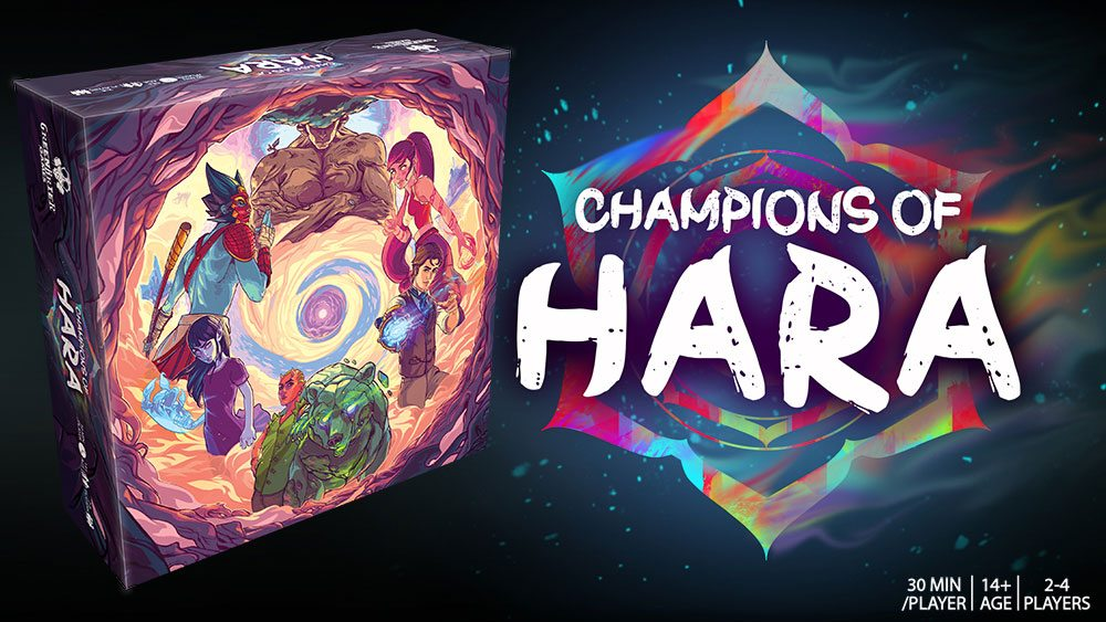 Champions of Hara banner