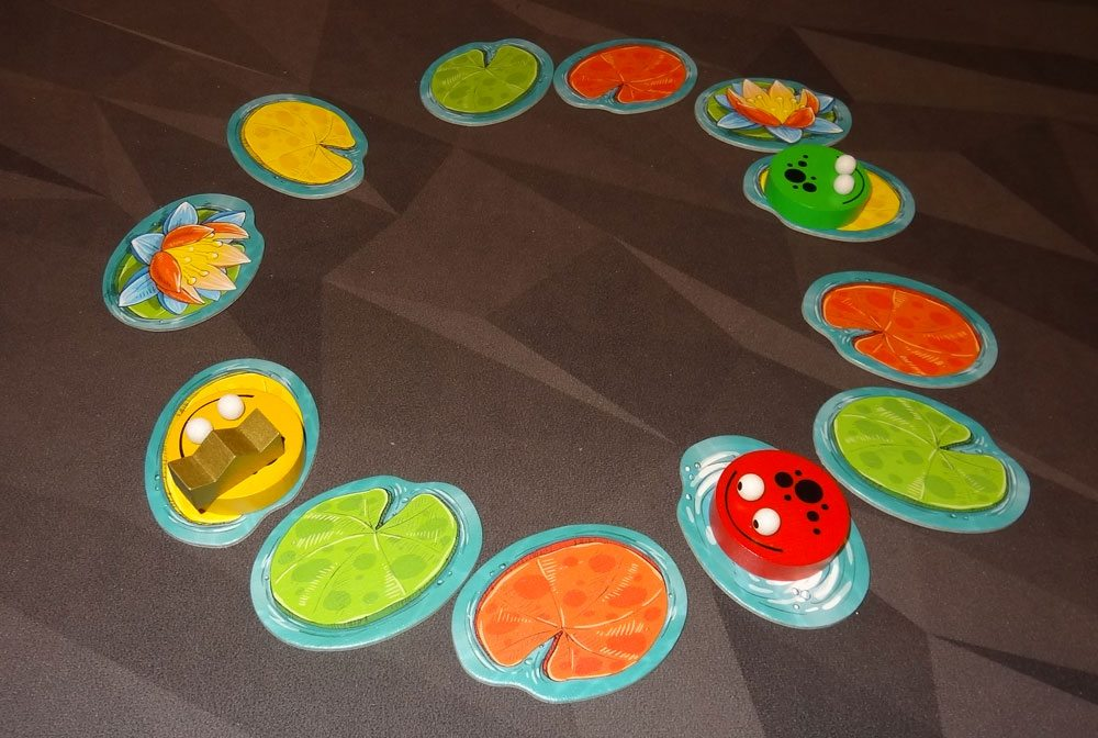 King Frog 2- or 3-player