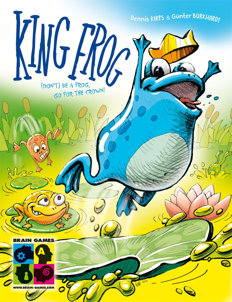 King Frog cover