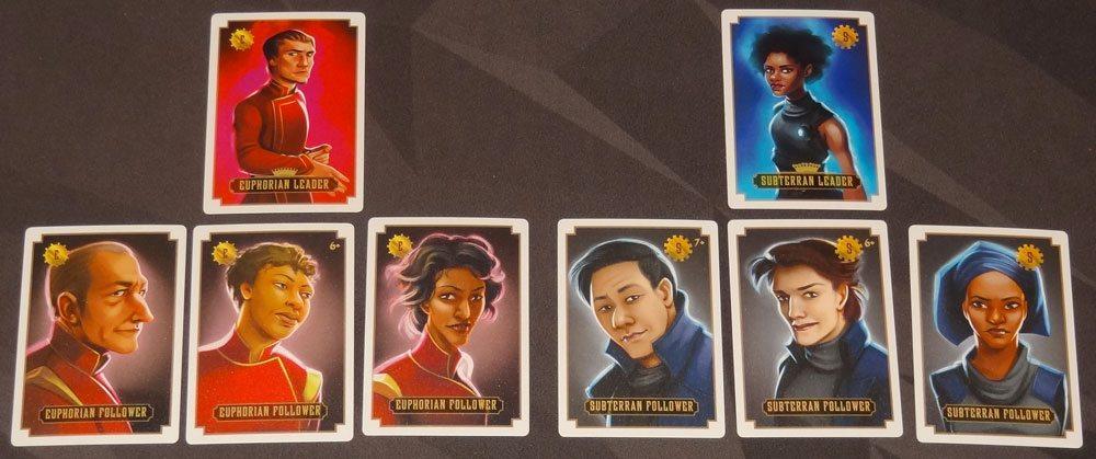 Leaders of Euphoria recruit cards