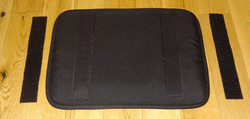 North St. Bags laptop sleeve with velcro