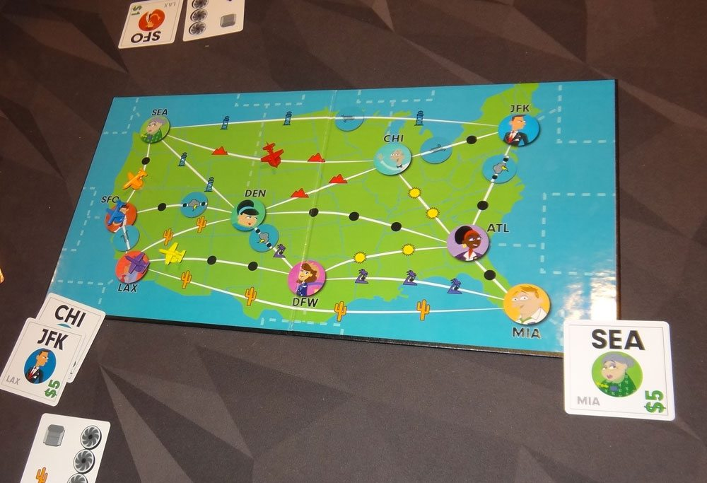 Now Boarding game