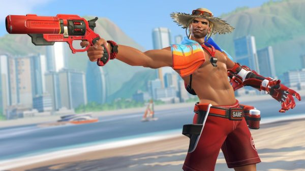 McCree Lifeguard Skin. Drool sold separately.