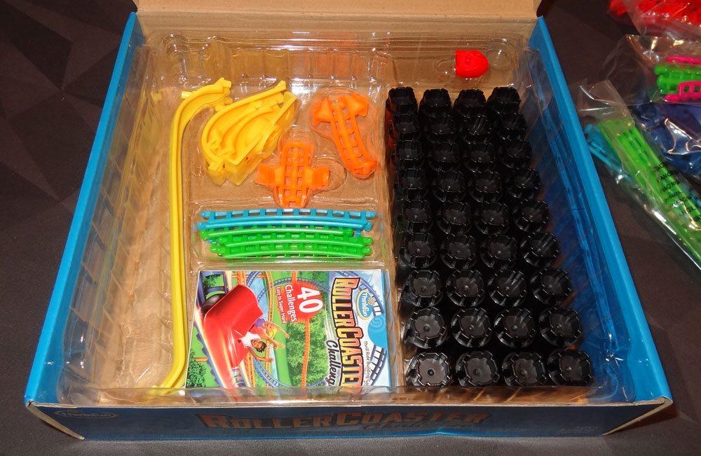 Roller Coaster Challenge box insert