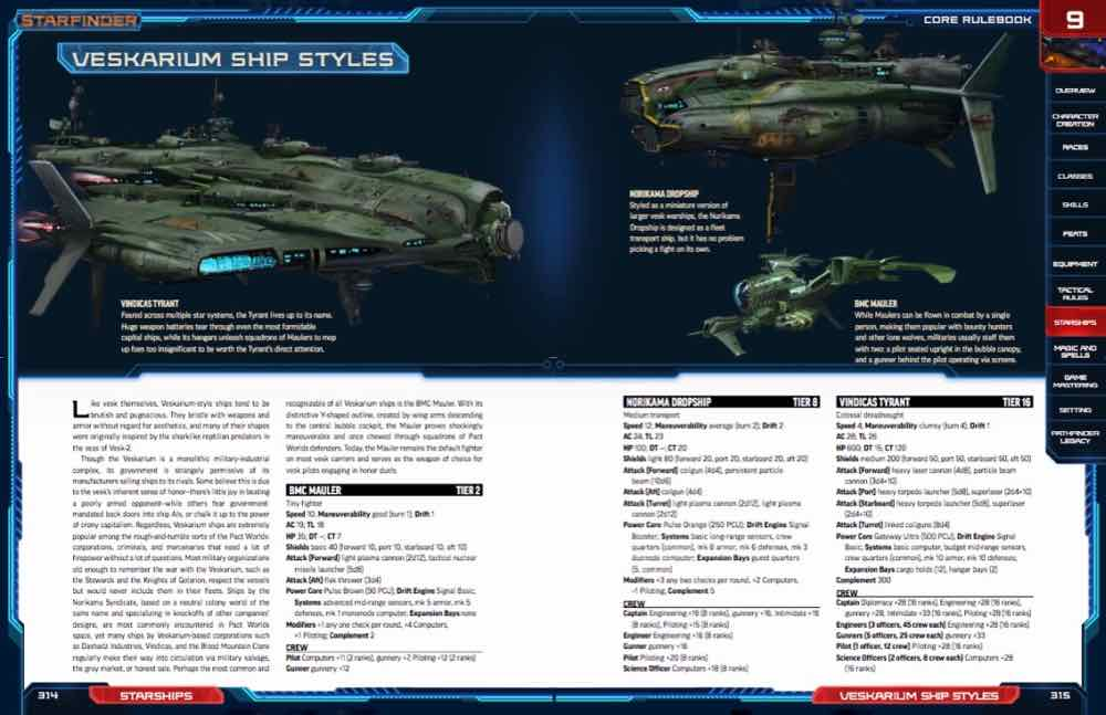Desk Starships and Stats