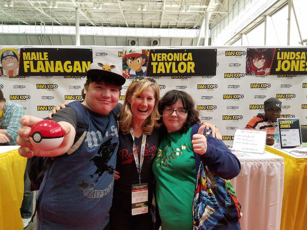 Veronica Taylor, Boston Comic Con
