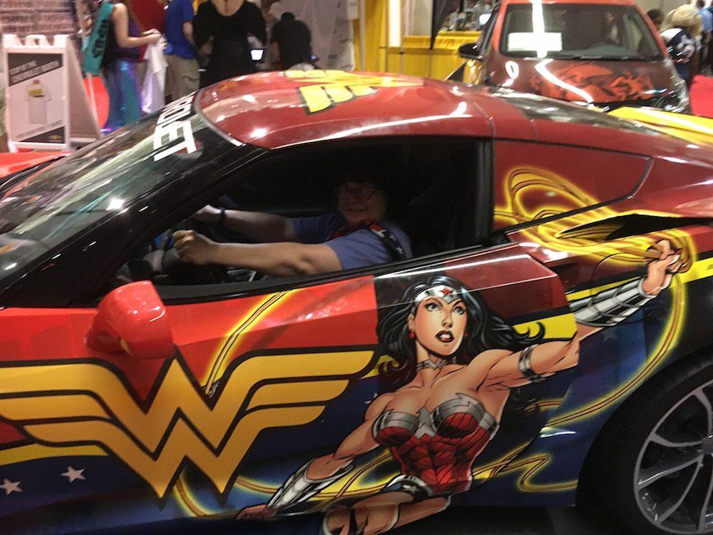 Chevy Boston Comic Con