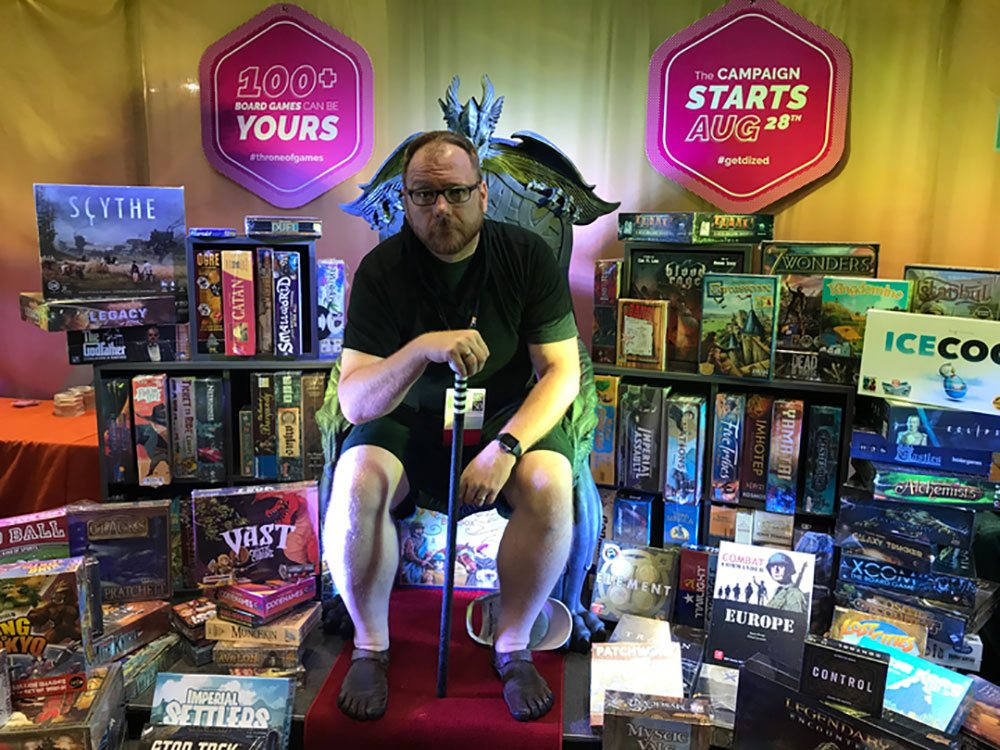 Gerry Tolbert on Throne of Games