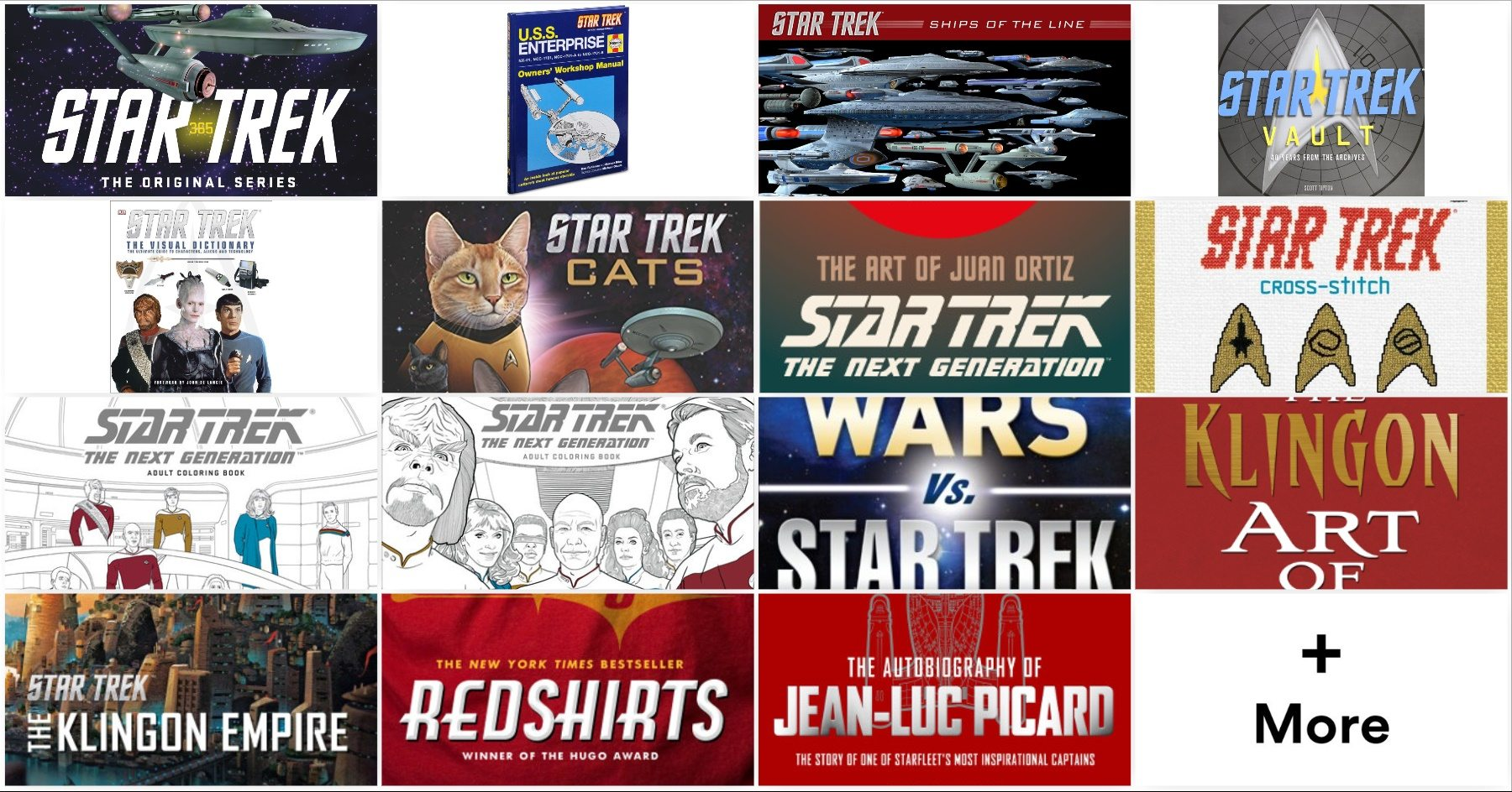 30 Star Trek Books