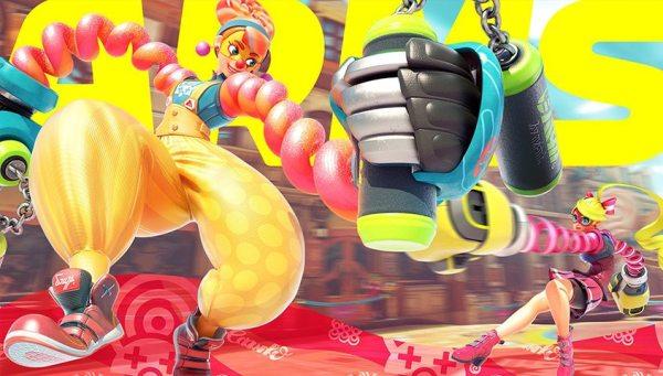 Lola Pop from ARMS, Copyright Nintendo