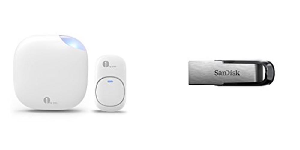 Geek Daily Deals 080317 doorbell usb drive