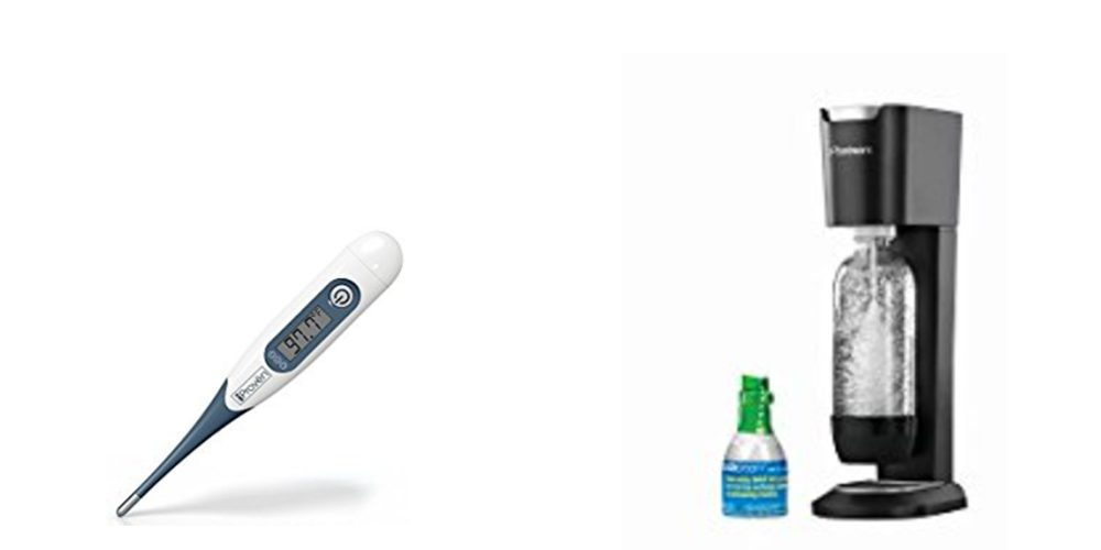 Geek Daily Deals 091417 digital thermometer sodastream