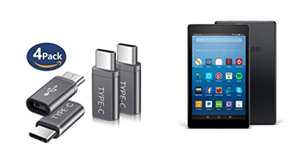 Geek Daily Deals 091617 USB C Adaptor fire tablets