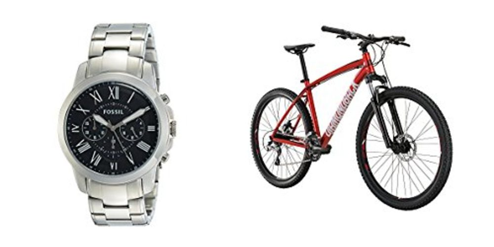 Geek Daily Deals 091717 fossil watches diamondback bikes