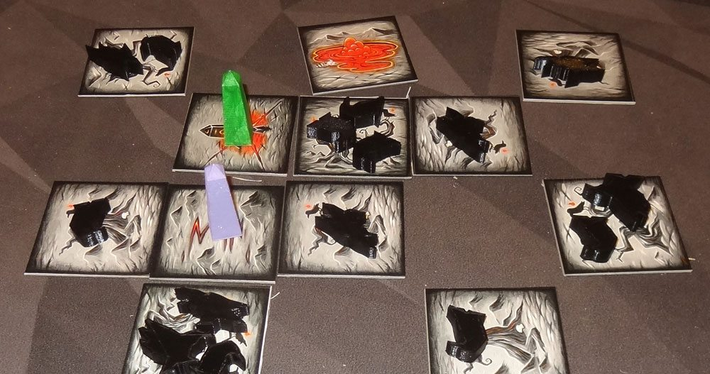 Tyler Sigman's Crows game in progress