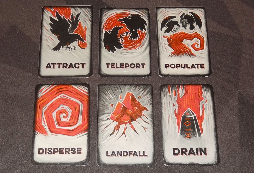 Tyler Sigman's Crows spell cards
